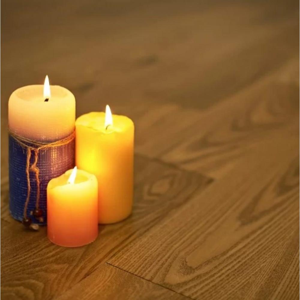 Массивная доска Amber Wood Ясень Светлый орех брашированная