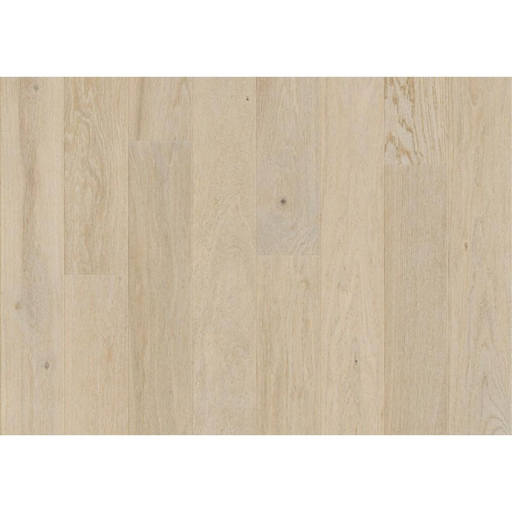 Паркетная доска Barlinek дуб Snowflakes Piccolo однополосная 130 мм