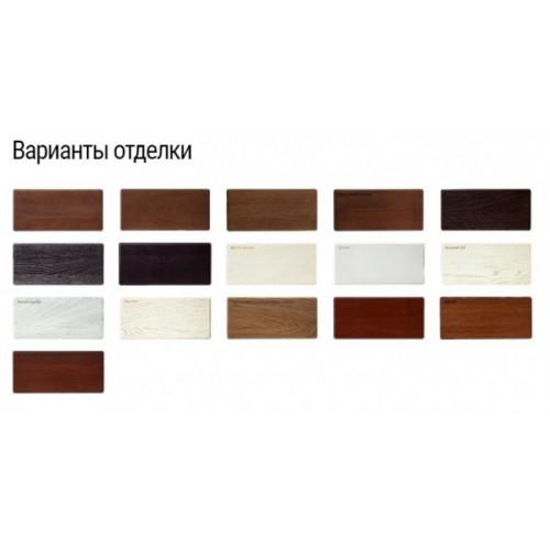 Двери из массива дуба Классика №1 цвет Темный орех