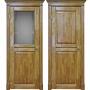 Двери из массива дуба Классика №2 цвет Дуб натуральный