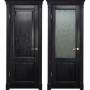 Двери из массива дуба Классика №3 цвет Седой венге