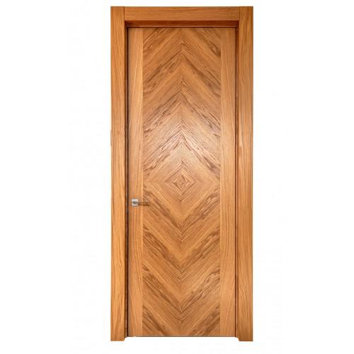 Двери из массива дуба Дублин цвет Натуральный