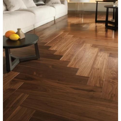 Английская ёлка HM Flooring Орех Американский селект (Herringbone)